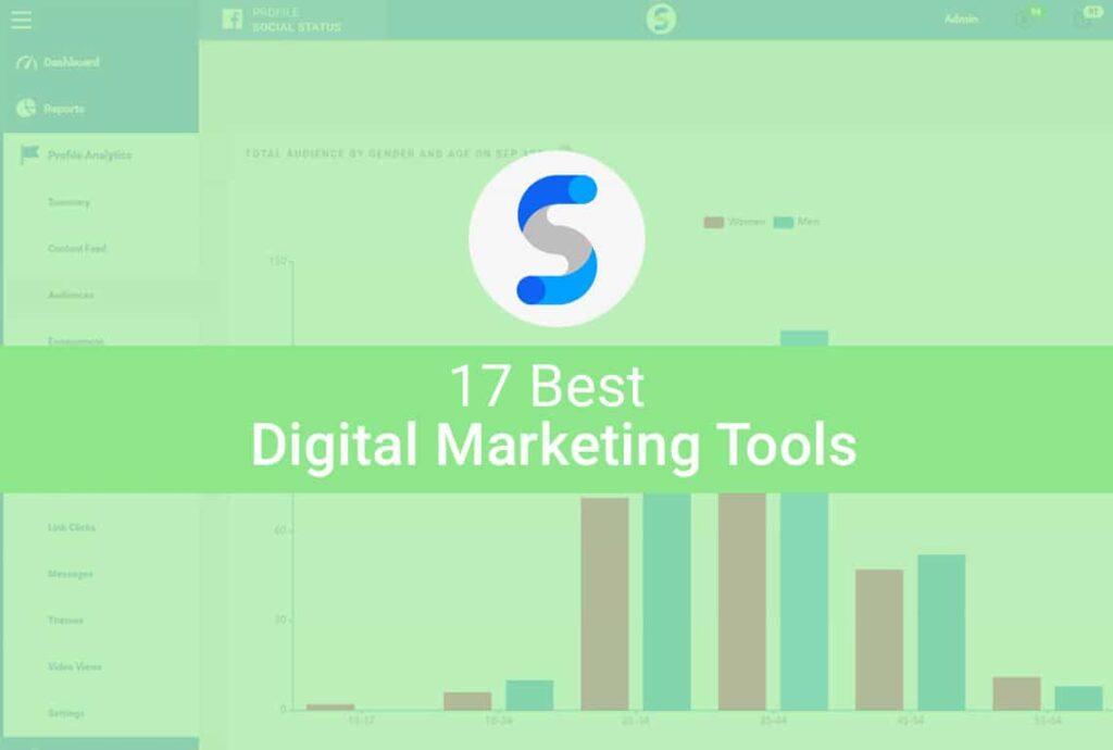 17 Best Digital Marketing Tools
