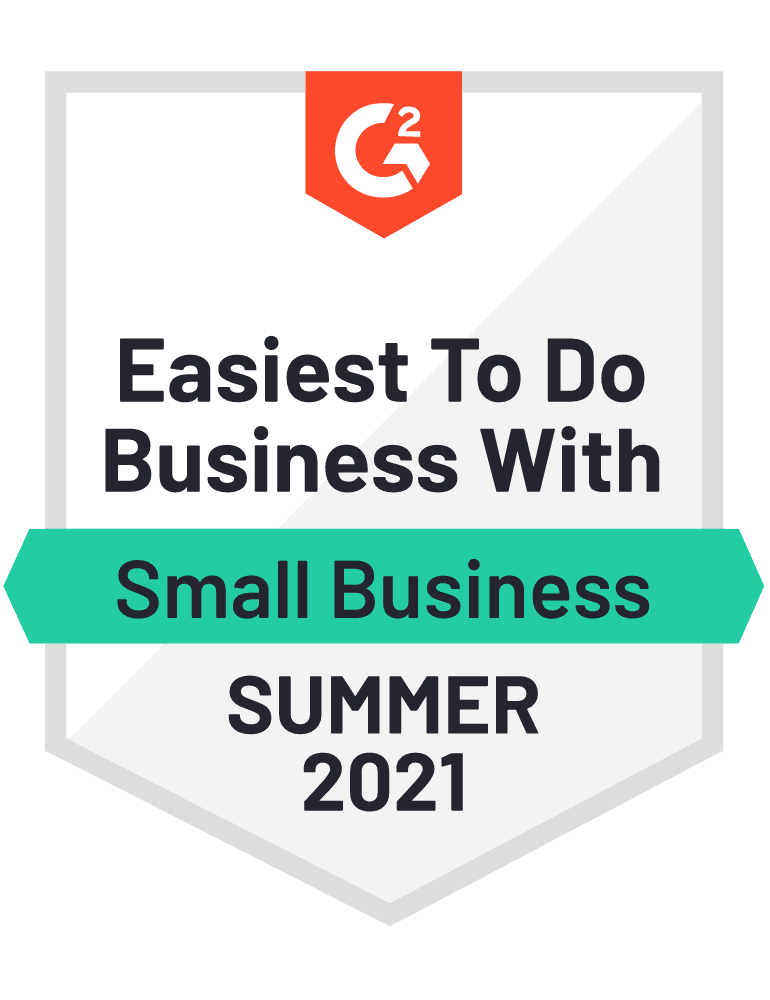 G2 2021 Summer Small Business Easiest To Do Business Wit